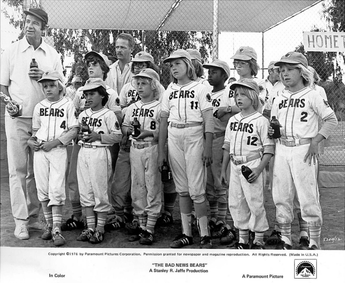 the bad news bears team