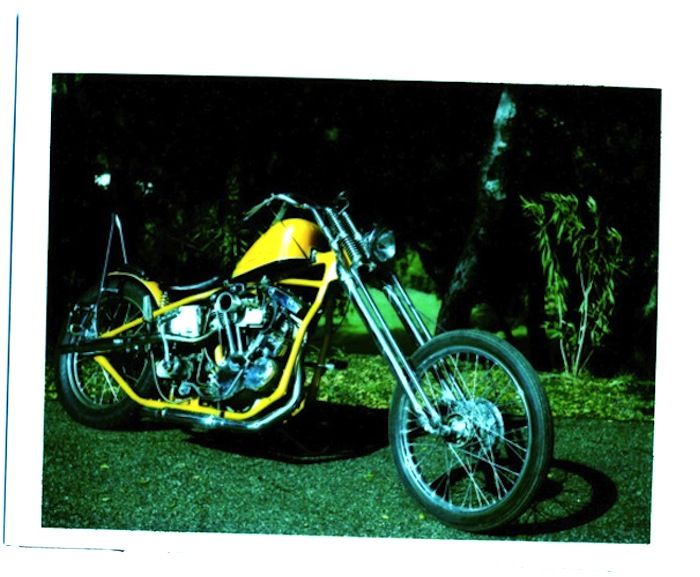 armond bletcher harley motorcycle