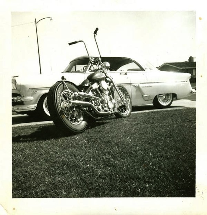 young armond bletcher motorcycle 1963