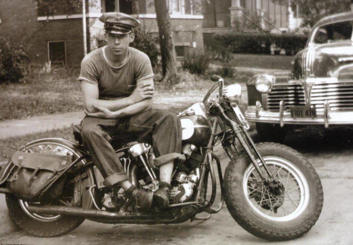 george smith sr s&s harley-davidson knucklehead