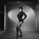 Bettie Page cat suit p211