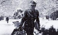 elvis presley white christmas snow 1957