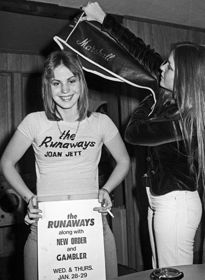 joan jett THE RUNAWAYS band poster