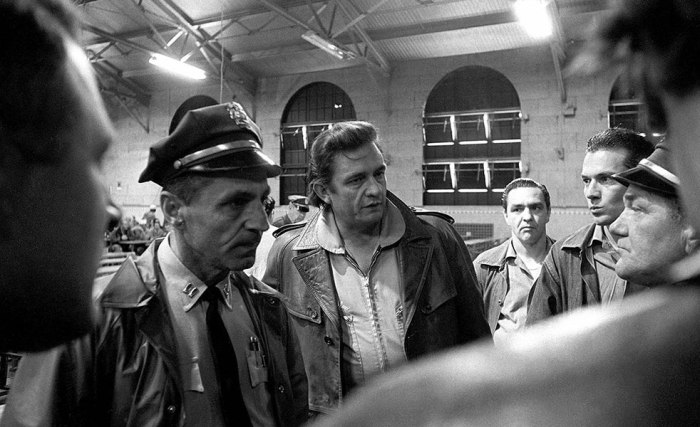 johnny cash san quentin prison photo 1