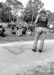 pulsating paula 1970s 1980s harley biker t shirt