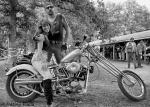 pulsating paula 1980s biker babe chopper harley
