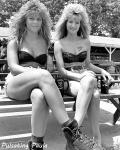 pulsating paula 1980s biker babe twins