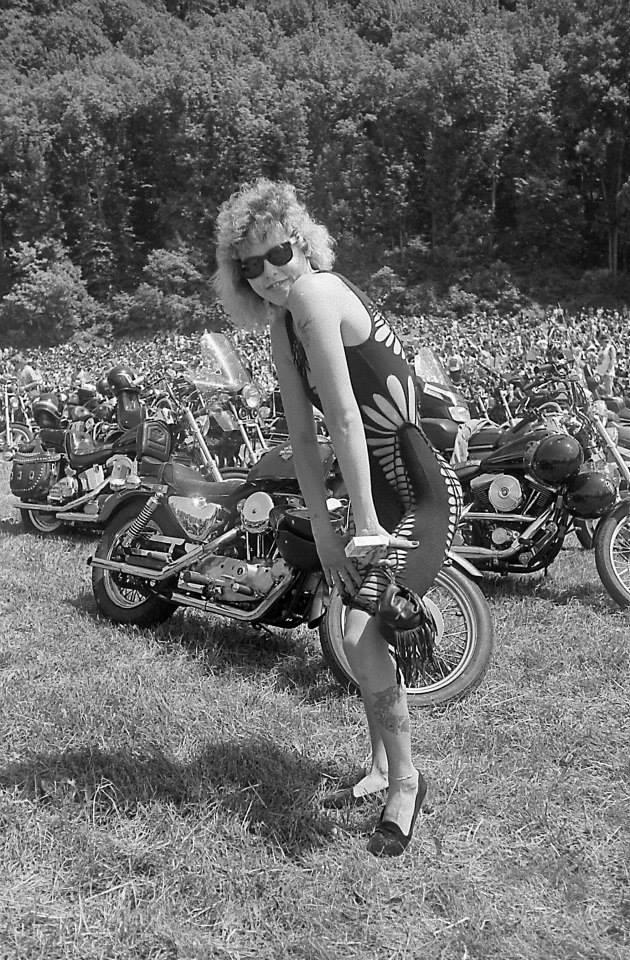 pulsating paula 1980s harley biker babe dress copy