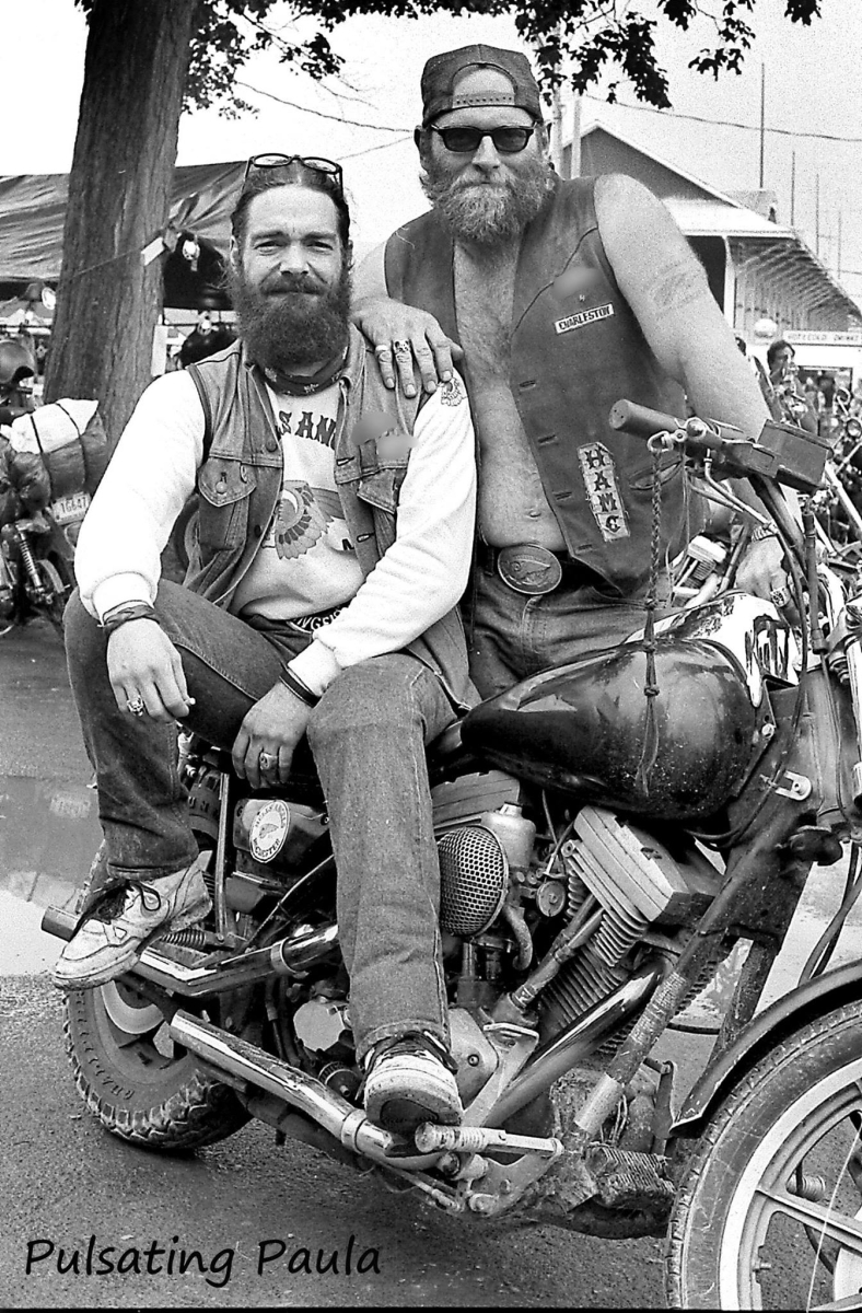 pulsating paula 1980s hells angels mc bikers