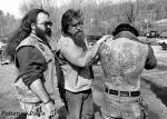 pulsating paula biker back tattoos 1980s