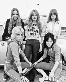 runaways 1976 europe tour