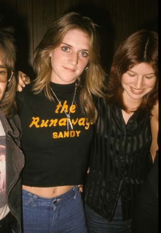 the runaways sandy drummer
