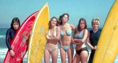the runaways surf board bikini cream