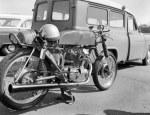 Ducati motorcycle santa pod sprint