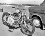 Les Field, 4638cc Sunbeam:Chevy motorcycle