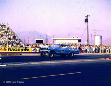 blair's chevy nova II fastback drag racer