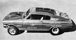 dick milner alan green chevy nova fastback