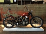 harley-davidson bobber knuckle head the one motorcycle show 2015