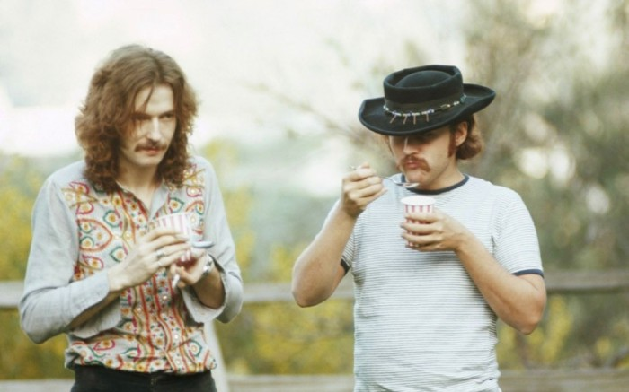 Eric Clapton David Crosby 1968 Laurel Canyon