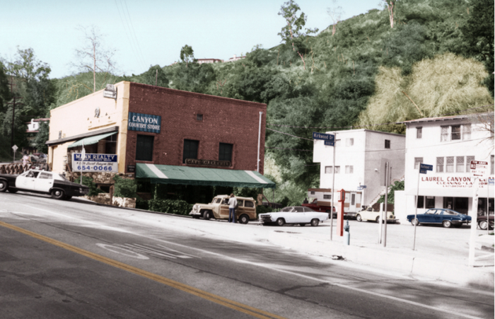 Laurel Canyon Country Store 1970