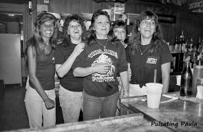 PULSATING PAULA DAYTONA BEACH BARTENDERS WHITE EAGLE BAR 1980S