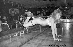 PULSATING PAULA DAYTONA BEACH BIKE WEEK BIKER STRIP CLUB STRIPPER 1980S