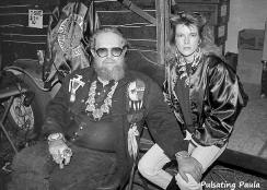 PULSATING PAULA DAYTONA BEACH BIKE WEEK DAVID ALLAN COE 1980S 1990S