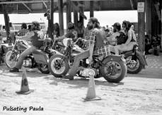 PULSATING PAULA DAYTONA BEACH BIKE WEEK HARLEY BIKERS 1980S