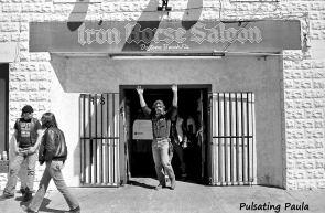 PULSATING PAULA DAYTONA BEACH BIKE WEEK IRON HORSE SALOON 1980S