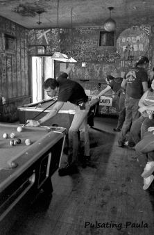 PULSATING PAULA DAYTONA BEACH BIKE WEEK POOL TABLE DIVE BAR 1980S