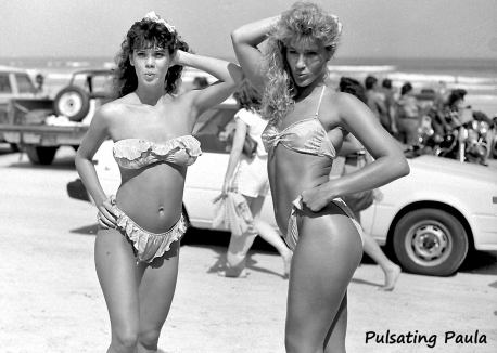 PULSATING PAULA DAYTONA BIKE WEEK BIKINI NUDE 1980S GIRLS