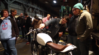 the one motorcycle show 2015 triumph