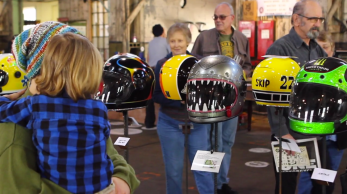 the one motorcycle show 21 helmets