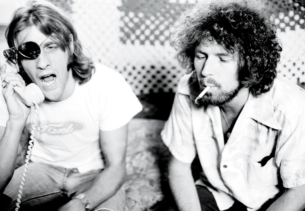 young glenn frey don henley the eagles   The Selvedge Yard Don Henley Young