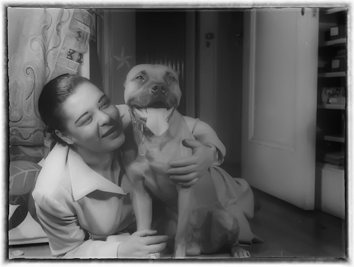 BILLIE HOLIDAY MISTER BOXER DOG