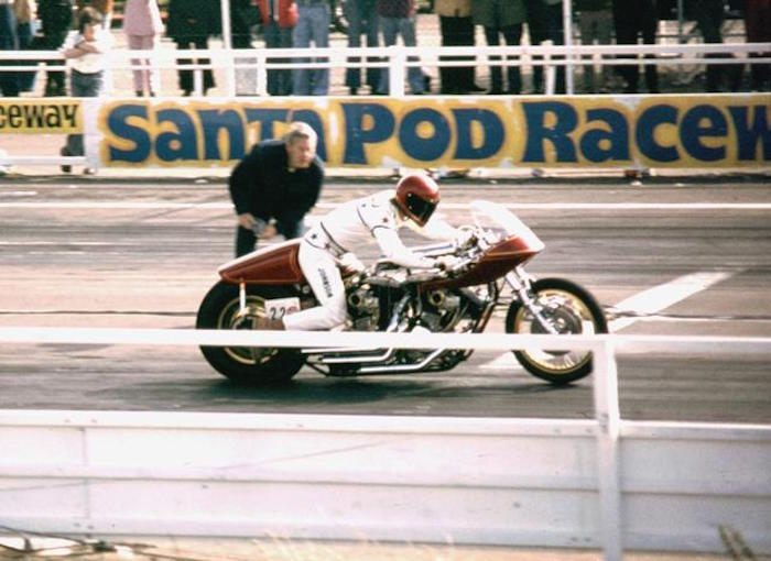 danny johnson goliath 2 harley-davidson drag