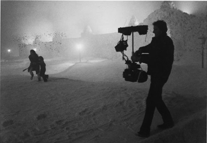 the shining steadicam garrett brown shelley duval danny lloyd snow