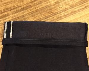 black white selvedge