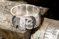 steve west silver piston hobo jewelry