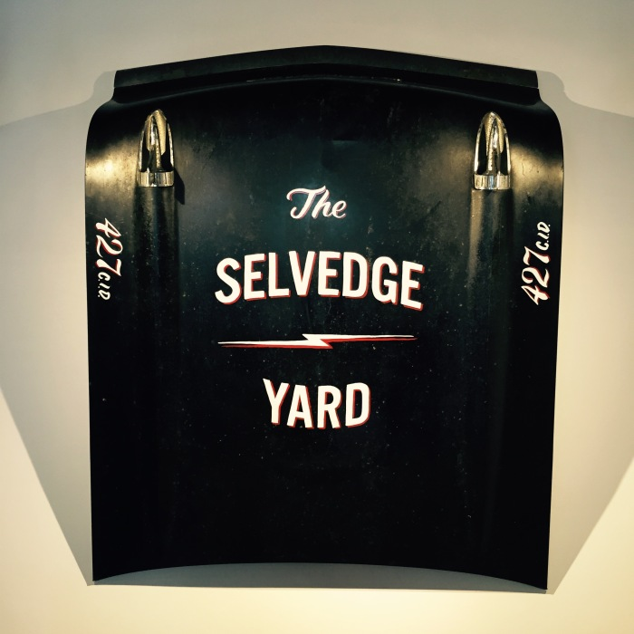 TSY THE SELVEDGE YARD SHOP STORE 57 CHEVY HOOD