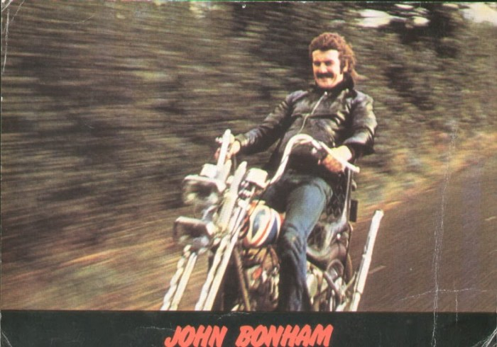 john bonham bsa chopper motorcycle
