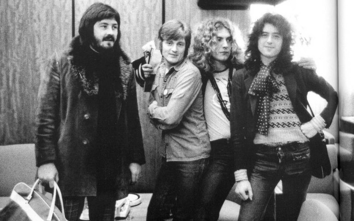 led zeppelin john bonham john paul jones robert plant jimmy page