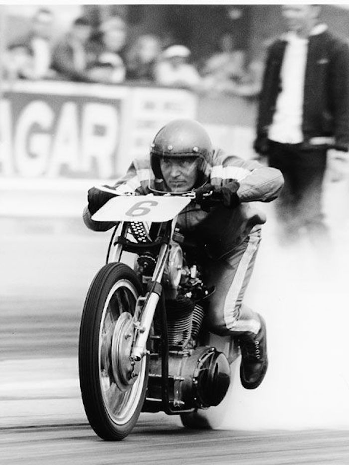 leo payne harley-davidson top fueler drag bike motorcycle
