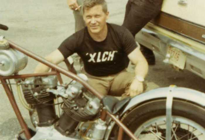 Leo Payne Harley-Davidson XLCH