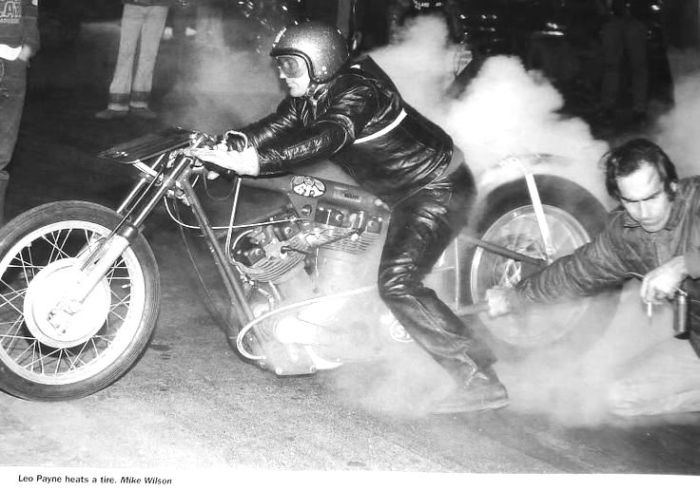 Leo Payne Turnip Eater Harley-Davidson dragster