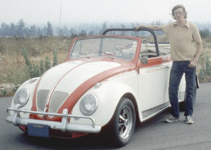 paul newman bug indy vw v-8 ford