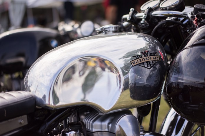 BARBER VINTAGE DAYS MOTORCYCLE SHOW STEVE WEST TSY THE SELVEDGE YARD 1