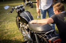 BARBER VINTAGE DAYS MOTORCYCLE SHOW STEVE WEST TSY THE SELVEDGE YARD 10
