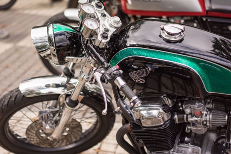 BARBER VINTAGE DAYS MOTORCYCLE SHOW STEVE WEST TSY THE SELVEDGE YARD 24