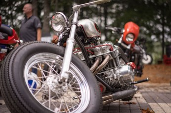 BARBER VINTAGE DAYS MOTORCYCLE SHOW STEVE WEST TSY THE SELVEDGE YARD 25